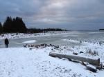 Our closest beach (Lake Huron)